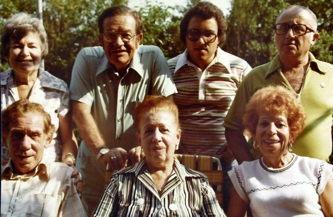 Diane, Manny, Howard, Ralph, Max, Rhoda and Ruth